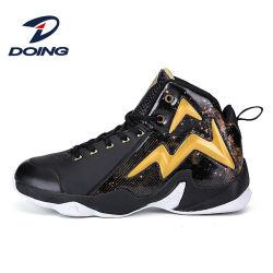 جديد تصميم عادة رجال [برثبل] [هيغ-توب] كرة سلّة رياضة أحذية