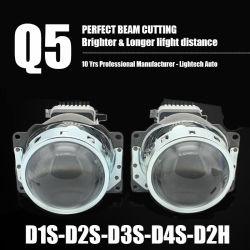 Faro Per Proiettore Allo Xeno Hid Lightech Q5 D1s D2s D3s D4s D2h