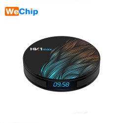 핫 디자인 프로모션 HK1 Max Rockchip Rk3328 4K UHD Android 9.0 TV 상단 세트 박스 4GB RAM