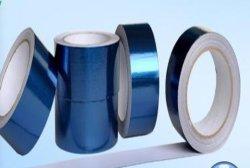 Le bleu de l'alun. -Bande de tissu de verre, du ruban adhésif, ruban en aluminium bleu