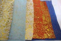 Золото и Серебро Россия PP Спанбонд Spunbond ткань в качестве украшения /упаковочного материала