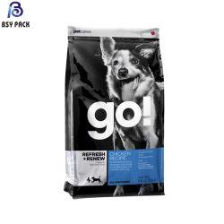 La migliore qualità ricicla il sacchetto del pacchetto dell'alimento di cane con il sacchetto della chiusura lampo del cursore