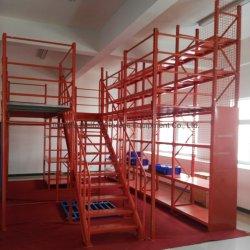 Depósito de Serviço Pesado de metal de paletes Multi-Level Mezzanine