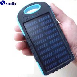 소형 태양 에너지 은행 8000mAh 태양 충전기