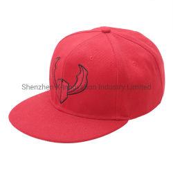 Stickerei-Baseballmütze-gewaschener Fernlastfahrer-Schutzkappen-Hut der Form-Qualitäts-6 des Panel-3D