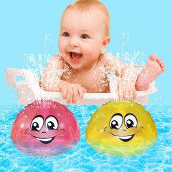 Светодиод ванной игрушки не распыляйте воду с плавающей запятой игрушки малыша игрушка для ванны