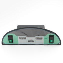 La mitad de Elliptic tablero de instrumentos para el coche eléctrico