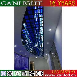 Creative forme spéciale plafond incurvé Affichage LED Flexible du vérin de mur vidéo de l'écran pour le Bar