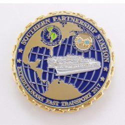 Новые металлические Silver Boeing сувенирные монеты