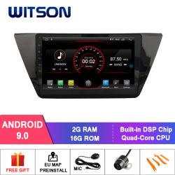 "Witson 10.2 ""フォルクスワーゲンTiguan 2017年のための大きいスクリーンのアンドロイド9.0車DVD"