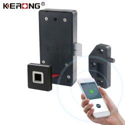 KERONG Agosto inteligente electrónico de identificación biométricos de huellas digitales Mini Locker el bloqueo con la aplicación Bluetooth