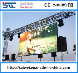 Video visualizzazioni di parete esterne dell'affitto P4.81 LED per la pubblicità dei moduli dello schermo di Billoard del segno del comitato degli schermi di visualizzazione