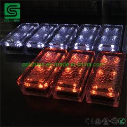 4*8 6*6 6*9 LED 얼음 태양 벽돌 빛 젖빛 유리 정원 포장 기계 램프 훈장 4*8