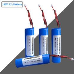 Аккумуляторы размера 18650 1s1p батарей 3,7 В 2000 Мач ячейка в сборе с PCM и разъем