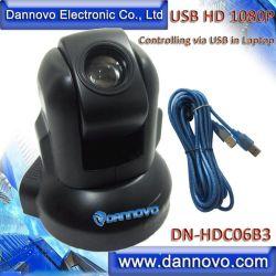 Dannovo широкий угол приходилось ютиться зал веб-камера для видеоконференций, Full HD 1080P PTZ USB видео камера для проведения конференций 3X оптический зум, управление через USB в портативный компьютер,Skype, Lync