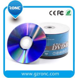 工場卸し売り4.7GB 120min 16X白いインクジェット印刷できるブランクDVD-R