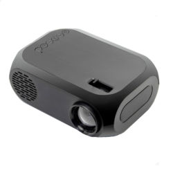 Miniatura Home-Use Portátil Projector LED Multimedia Máquina de vídeo Mini projector