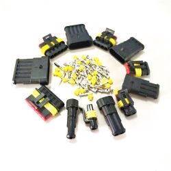 Высокое качество Автомобильная водонепроницаемая электрического провода в разъем 2 контактный способ клеммами HID