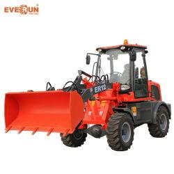 Approuvé Hoflader 1.2Ton Everun Ce Er12 petits mini chargeuse à roues avant la fin de l'agriculture
