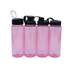 Nouveau design sans BPA TRITAN l'eau potable de Sports Bouteille en plastique avec du silicone buse d'aspiration et de paille