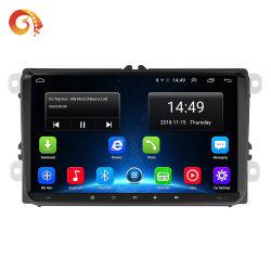 9 pulgadas de pantalla táctil capacitiva de 2 DIN GPS Multimedia reproductor estéreo para coche con lector de tarjetas SD soporte de la radio del coche de la cámara de visión trasera del coche reproductor de vídeo Reproductor de DVD
