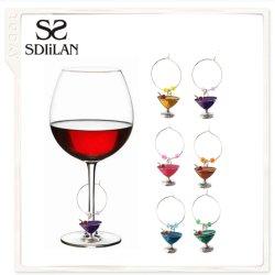 Charme van het Glas van de Wijn van de Juwelen van het Huis van de Tegenhanger van de Juwelen van de manier de Populaire