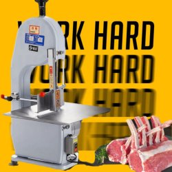 L'osso elettrico del manzo del porco del pollo ha veduto che carne dell'osso ha veduto la taglierina dell'osso della carne di prezzi della macchina