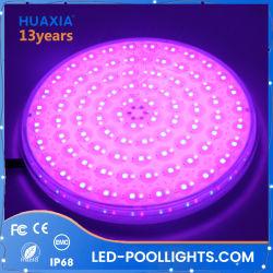 Planos Ultra Slim LED RGB de 12V bajo el agua de la luz de la piscina de la fuente