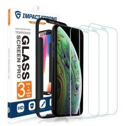 [3] 9h High Definition закаленное стекло защитный экран для iPhone