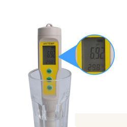자동 보정 디지털 방수 휴대용 pH 미터(온도 포함