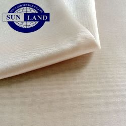 La sensibilità lavorata a maglia lucida 100% del tessuto dell'interruttore di sicurezza del rivestimento del poliestere 50d in pieno gradice la seta