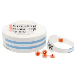 De aangepaste Thermische Manchet van identiteitskaart RFID van de Armband van het Ziekenhuis RFID Geduldige