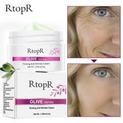 Peptide die van de Olijf van de Room van de anti-Rimpel van de Zorg van de Huid van de Room van het Gezicht van Rtopr de Room van de anti-Rimpel voor Vrouwen stabiliseren