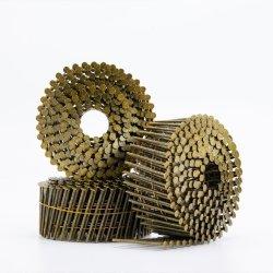 Um melhor serviço de alta qualidade da haste do parafuso de anel liso pregos da bobina