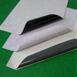 Colle blanche Vinyle auto-adhésif brillant /Version imprimable Le matériel publicitaire