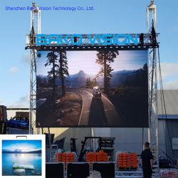 شاشة فيديو LED منحنية بالكامل مضادة للماء P5.95 مم RGB مصنع LED