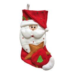 ترويجيّ عيد ميلاد المسيح زخرفة [سنتا] كلاوس هبات ضخم عيد ميلاد المسيح جورب مدلّاة