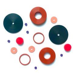 L'industrie OEM personnalisés/ODM collée ACM/CR/EPDM/FDA Feuille enroulé en spirale en caoutchouc de silicone joint d'étanchéité