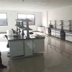 L'acier en bois Meubles de salle de classe de mobilier de laboratoire dentaire