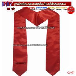 Fashion élégant logo imprimé en soie Foulard Foulard uniforme de l'Université de l'école (C1027)