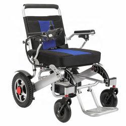 Châssis en alliage léger en aluminium pliable pour les personnes handicapées en fauteuil roulant électrique de puissance
