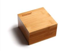Braccialetto di bambù della stringa della mano di formato 108 della casella di legno per ricevere il legno solido dei retro regali del regalo dei contenitori di legno di caselle