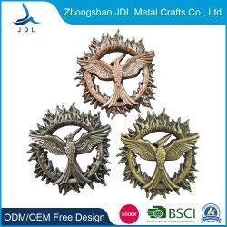 Venda por grosso barato Logotipo personalizado da Polícia de Metal Emblema Militar Nome Botão de estanho Badge Pin de lapela Estanho logótipo do botão com o pino de segurança (367)
