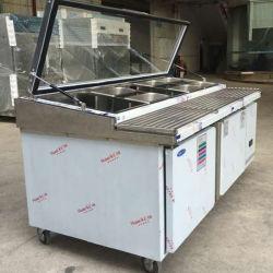 Gaveta comercial frigorifico bar contra frigorífico equipamento de cozinha com o desenho