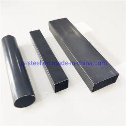 18X18 de l'Asie tube carré de fer noir/noir Tuyau en acier carré
