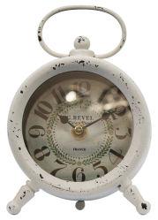 Relógio de mesa de ferro Moda Antiga