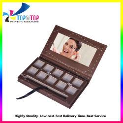 De façon personnalisée rechargeables Palette Maquillage biodégradable Eye Shadow Boîte d'affichage de l'emballage