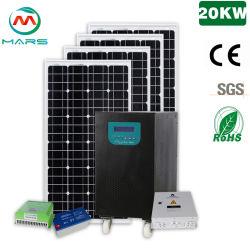販売/20000ワットの太陽エネルギーシステムのための格子/使用された太陽発電機装置を離れた火星の太陽20kw太陽系