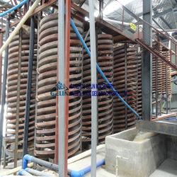 Concentrerende Installatie van het Erts van het Titanium van de Separator van de Machine van de ernst de Spiraalvormige Ferro