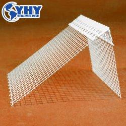2,5 m de comprimento do cordão de canto de PVC com 10cm de malha de fibra de vidro